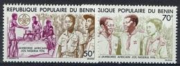 Benin, Scout Movement 1976, MNH VF - Benin - Dahomey (1960-...)