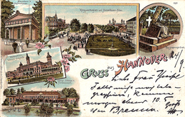 Carte Postale Ancienne CPA  : Gruss Aus Hannover - Hannover