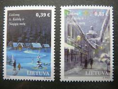 Christmas And New Year # Lietuva Litauen Lituanie Litouwen Lithuania 2016 MNH Mi. 1232/3 - Lithuania