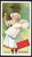 CHROMO Chocolat SUCHARD Mère Enfant   Serie 154 - Suchard