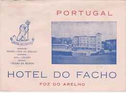 PORTUGAL - TOURISM BROCHURE - HOTEL URGEIRIÇA - CANAS DE SENHORIM  - HOTEL DO FACHO - FOZ DO ARELHO - CARNET WITH MAP - Dépliants Touristiques