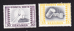 Costa Rica, Scott #C232, C237, Mint Hinged, Industry, Issued 1954 - Costa Rica