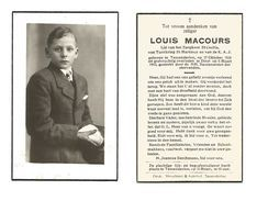 793. LOUIS MACOURS - Lid Zangkoor St.Cecilia / Turnkring St.Martinus En K.A.J. - °TESSENDERLOO 1929 / +DIEST 1943 - Santini