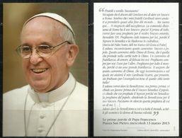 Santino - Papa Francesco - Le Prime Parole Di Papa Francesco - Santini