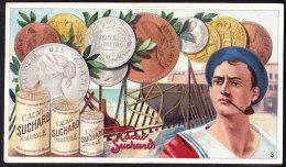 CHROMO Chocolat SUCHARD   Pièce De Monnaie  Shilling Angleterre England  Coins   Serie 157 - Suchard