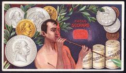 CHROMO Chocolat SUCHARD   Pièce De Monnaie  L'Autriche Austria  Coins   Serie 157 - Suchard