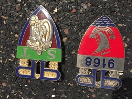 LOT Insignes Police Nationale 5 - Police