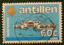 60 Ct Standaardserie NVPH 782 1984 Gestempeld / Used NEDERLANDSE ANTILLEN NETHERLANDS ANTILLES - Curaçao, Nederlandse Antillen, Aruba