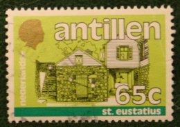 65 Ct Standaardserie NVPH 783 1984 Gestempeld / Used NEDERLANDSE ANTILLEN NETHERLANDS ANTILLES - Curaçao, Nederlandse Antillen, Aruba