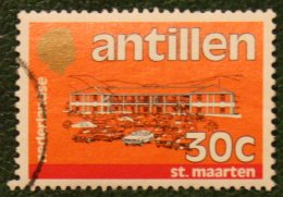 30 Ct Standaardserie NVPH 760 1983 Gestempeld / Used NEDERLANDSE ANTILLEN NETHERLANDS ANTILLES - Curaçao, Nederlandse Antillen, Aruba