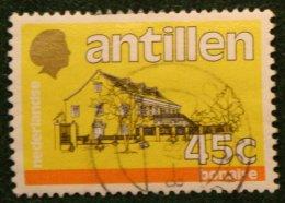 45 Ct Standaardserie NVPH 762 1983 Gestempeld / Used NEDERLANDSE ANTILLEN NETHERLANDS ANTILLES - Curaçao, Nederlandse Antillen, Aruba