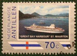 70 Ct Toerisme Promotie NVPH 916 1989 Gestempeld / Used NEDERLANDSE ANTILLEN NETHERLANDS ANTILLES - Curaçao, Nederlandse Antillen, Aruba