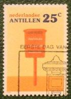 25 Ct Postbussen Mailboxen NVPH 847 1986 Gestempeld / Used NEDERLANDSE ANTILLEN NETHERLANDS ANTILLES - Curaçao, Nederlandse Antillen, Aruba