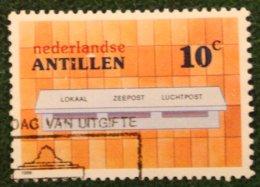 10 Ct Postbussen Mailboxen NVPH 846 1986 Gestempeld / Used NEDERLANDSE ANTILLEN NETHERLANDS ANTILLES - Curaçao, Nederlandse Antillen, Aruba