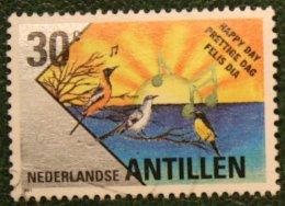 30 Ct Wenszegels NVPH 976-981 1991 Gestempeld / Used NEDERLANDSE ANTILLEN NETHERLANDS ANTILLES - Curaçao, Nederlandse Antillen, Aruba