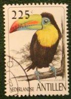 Birds Vogels Oiseaux Pajaros NVPH 1158 1997 Gestempelt / Used NEDERLANDSE ANTILLEN NETHERLANDS ANTILLES - Curaçao, Nederlandse Antillen, Aruba