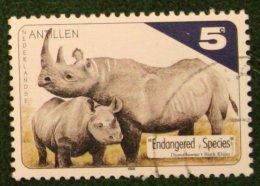 5 Ct Bedreigde Dieren Animal NVPH 1232 1998 Gestempeld Used NEDERLANDSE ANTILLEN NETHERLANDS ANTILLES - Curaçao, Nederlandse Antillen, Aruba