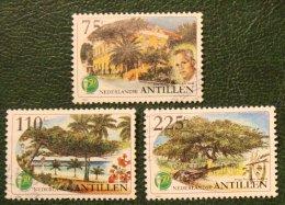 50 Jaar Avila Beach Hotel NVPH 1249-1251 1999 Gestempeld / Used NEDERLANDSE ANTILLEN NETHERLANDS ANTILLES - Curaçao, Nederlandse Antillen, Aruba