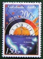 Decemberzegel Christmas Weihnachten NVPH 1297 1999 Gestempeld / Used NEDERLANDSE ANTILLEN NETHERLANDS ANTILLES - Curaçao, Nederlandse Antillen, Aruba