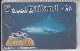 AUSTRIA 1999 DIVING ATLANTIS KO LANTA ANDAMANENSEE SHARK MINT PHONE CARD - Austria
