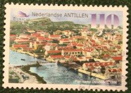 110 Ct Historie Van Curacao Baot Ship Shiff NVPH 1259 1999 Gestempeld / Used NEDERLANDSE ANTILLEN NETHERLANDS ANTILLES - Curaçao, Nederlandse Antillen, Aruba