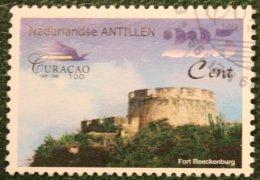 225 Ct Historie Van Curacao Baot Ship Shiff NVPH 1261 1999 Gestempeld / Used NEDERLANDSE ANTILLEN NETHERLANDS ANTILLES - Curaçao, Nederlandse Antillen, Aruba