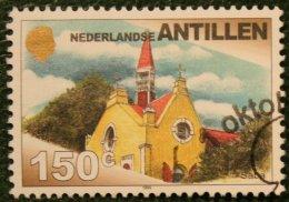 150 Ct Definitieve Serie Church NVPH 1276 1999 Gestempeld / Used NEDERLANDSE ANTILLEN NETHERLANDS ANTILLES - Curaçao, Nederlandse Antillen, Aruba