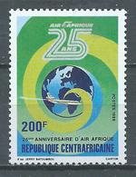 Centrafricaine Rép. YT N°744 Compagnie Aérienne Air Afrique Neuf ** - Centrafricaine (République)