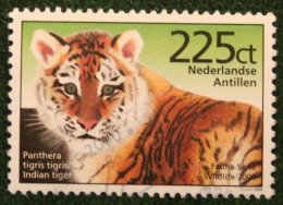 Fauna Animals Tijger Tigre Tiger NVPH 1308 2000 Gestempeld USED NEDERLANDSE ANTILLEN / NETHERLANDS ANTILLES - Curaçao, Nederlandse Antillen, Aruba