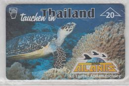 AUSTRIA 1999 DIVING ATLANTIS KO LANTA ANDAMANENSEE TURTLE MINT PHONE CARD - Austria