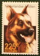 225 Ct Dog Hund Chien NVPH 1345 2001 Gestempeld USED NEDERLANDSE ANTILLEN / NETHERLANDS ANTILLES - Curaçao, Nederlandse Antillen, Aruba