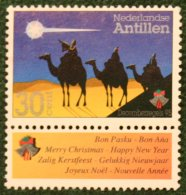 Decemberzegel NVPH 1111 1995 Gestempelt / Used NEDERLANDSE ANTILLEN NETHERLANDS ANTILLES - Curaçao, Nederlandse Antillen, Aruba