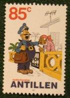 85 Ct Strippostzegel Cartoon NVPH 1357 2001 Gestempeld USED  NEDERLANDSE ANTILLEN NETHERLANDS ANTILLES - Curaçao, Nederlandse Antillen, Aruba