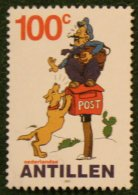 100 Ct Strippostzegel Cartoon NVPH 1358 2001 Gestempeld USED  NEDERLANDSE ANTILLEN NETHERLANDS ANTILLES - Curaçao, Nederlandse Antillen, Aruba