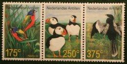 Birds Vogels Oiseaux Pajaros NVPH 1366-1368 2001 Gestempeld USED NEDERLANDSE ANTILLEN NETHERLANDS ANTILLES - Niederländische Antillen, Curaçao, Aruba