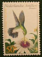50 Ct Fauna Bird Insects NVPH 1381 2002 Gestempeld USED NEDERLANDSE ANTILLEN / NETHERLANDS ANTILLES - Curaçao, Nederlandse Antillen, Aruba