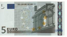 """5 EURO  """"N""""  Austria   Firma Trichet     F 005 A3  /  FDS - UNC - EURO"""