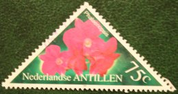 75 Flora Bloemen Blumen Flowers Fleurs NVPH 1290 1999 Gestempeld / USED NEDERLANDSE ANTILLEN / NETHERLANDS ANTILLES - Curaçao, Nederlandse Antillen, Aruba