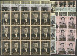 15x FUJEIRA - Famous People - Kennedy - CTO - Kennedy (John F.)