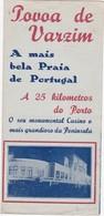 PORTUGAL TOURISM BROCHURE - POVOA DE VARZIM - Dépliants Turistici