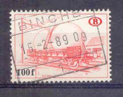 K007 -België  Spoorweg Chemin De Fer  Met Stempel BINCHE - 1952-....