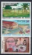 Benin, Blood Transfusion, 1976, MNH VF  Complete Set Of 3 - Benin - Dahomey (1960-...)