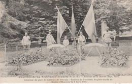 77 - LA FERTE SOUS JOUARRE - Bataille De La Marne Intérieur Du Parc Du Château De Péreuse - Tombes De 3 Soldats... - La Ferte Sous Jouarre
