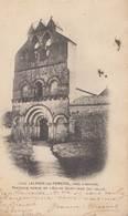 LALANDE-de-POMEROL: Portique Roman De L'Eglise Saint-Jean - Autres Communes