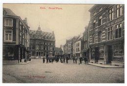 HAL. Grand'Place     Marcovici  Edit. J.Vanschepdael 1912 - Halle