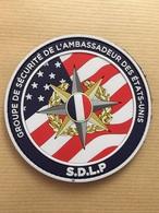 SDLP Securite Ambassadeur Des États Unis Police Sphp - Police