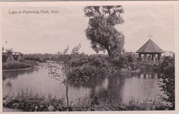 HULL - LAKE IN PICKERING PARK - Hull