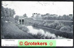 NIJMEGEN Ubber(g)scheweg Met Sluis 1907 Met NVPH 85    Lees Toelichting - Nijmegen
