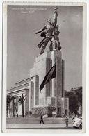 """PARIS 1937--Exposition Internationale--Pavillon URSS (petite Animation,drapeau)--cachet Krag """"Exposition De 1937"""" - Expositions"""