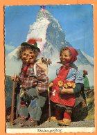 W169,  Hérisson, Randonneur, Matterhorn, Cervain, Pipe, 2040, Swizzerland, GF, Circulée 1954 - Mecki